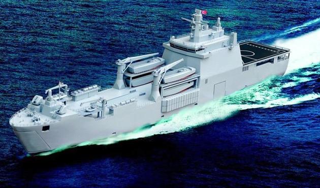 Milli gemi Sancaktar 'yelken' açıyor