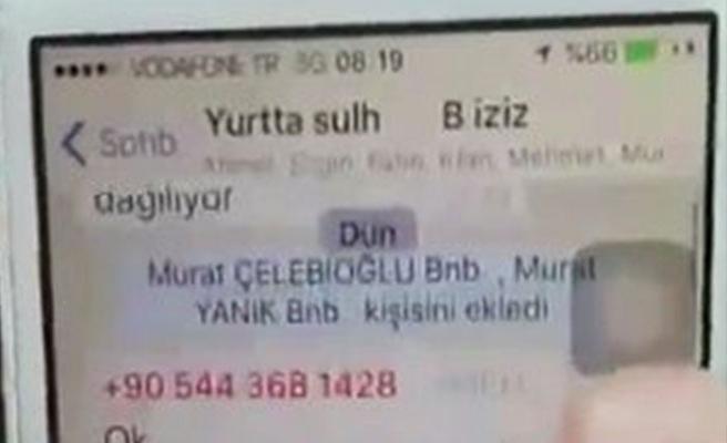 Darbecilerden WhatsApp'tan 'vur' talimatı
