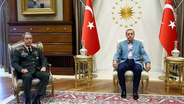 Erdoğan Akar görüşmesi iki buçuk saat sürdü