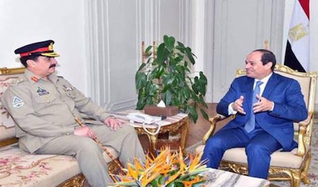 Mısır'ın Pakistan'la askeri işbirliği isteği