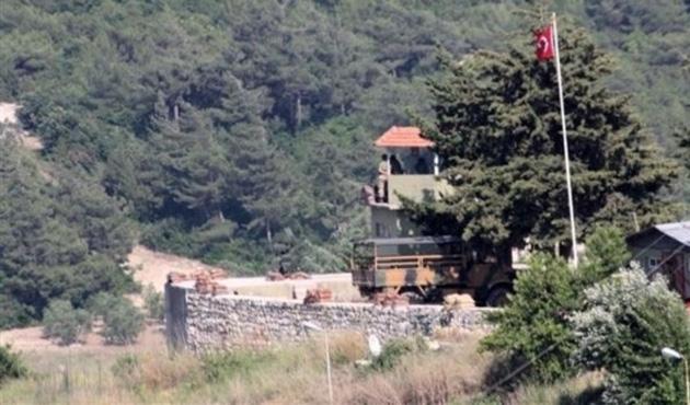 Hatay sınırında 14 yabancı uyruklu yakalandı