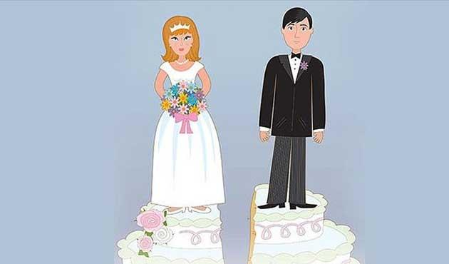Evlilikler azalıyor, boşanmalar artıyor