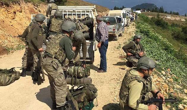 Ordu'da bir PKK'lı öldürüldü