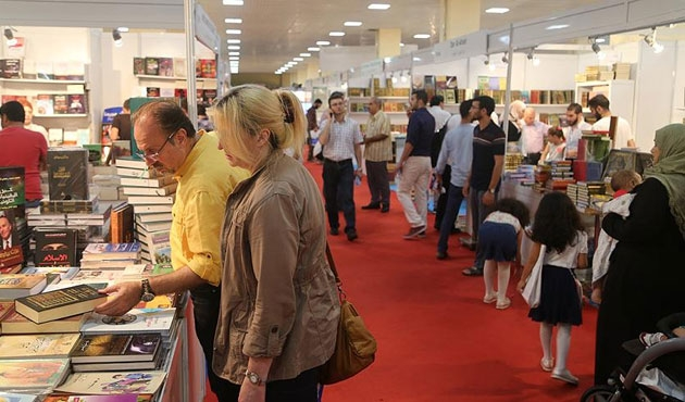 Arapça Kitap Fuarı'na yoğun ilgi