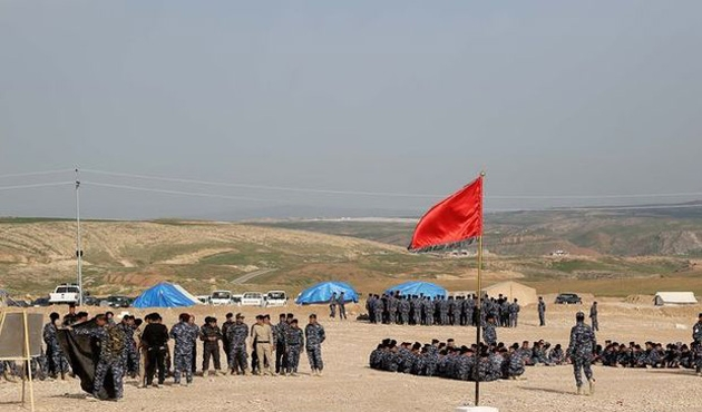 TSK'nın eğittiği savaşçılar Musul operasyonunda