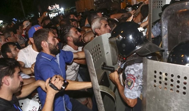 Erivan'da rehine krizi sona erdi