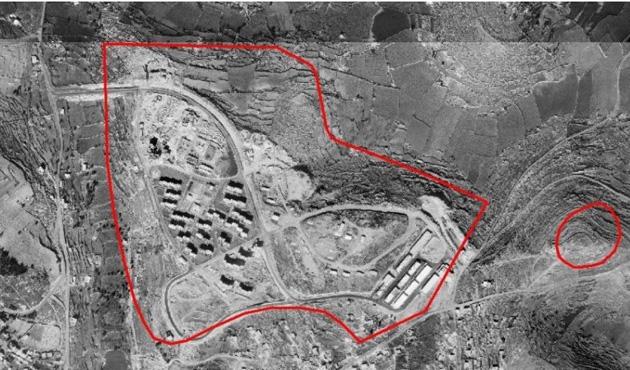 Filistin'deki Yahudi yerleşimleri 1970'te belirlenmiş