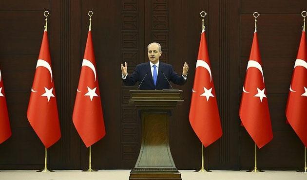 Kurtulmuş: 7 Ağustos'ta 'Türkiye'nin mitingi' yapılacak