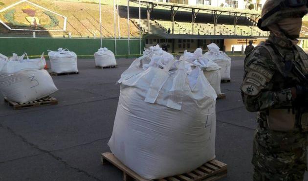 Bolivya'da 7 ton kokain ele geçirildi