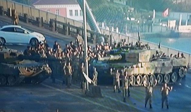 Askerler köprüye 'canlı bomba var' denilerek götürülmüş