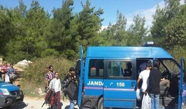 Bulgaristan sınırında 133 göçmen yakalandı