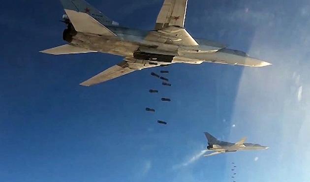 Rus uçakları yerleşim yerini vurdu: 15 ölü