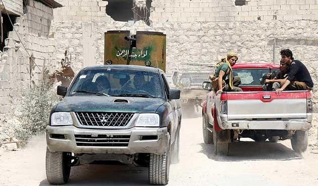 Muhaliflerden Suriye ordusuna büyük operasyon
