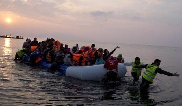 Yunanistan'a mülteci geçişleri sürüyor