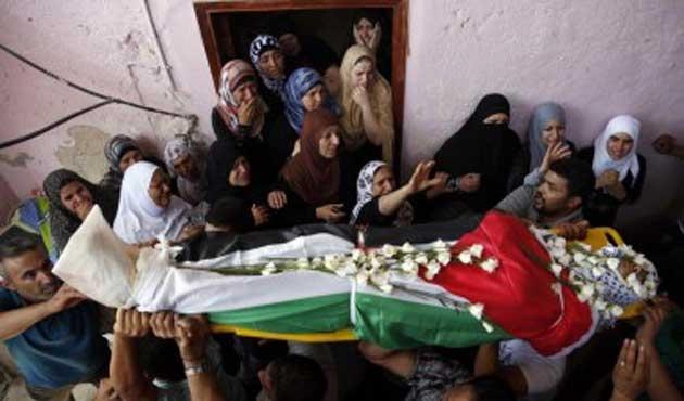 Filistinli gencin cenazesi teslim edildi