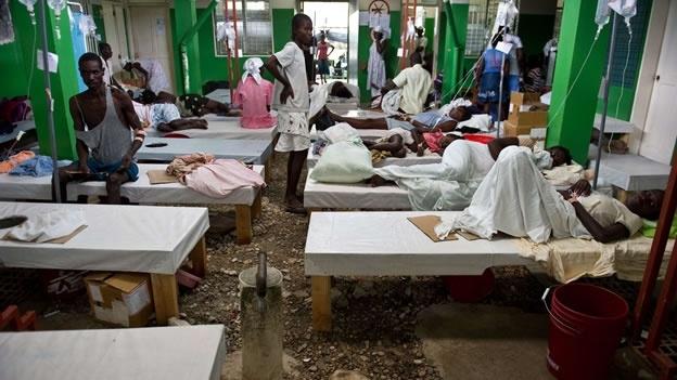 BM'den, kolera bulaştırdığı Haiti'ye yardım sözü
