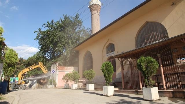 600 yıllık cami yeniden hizmette