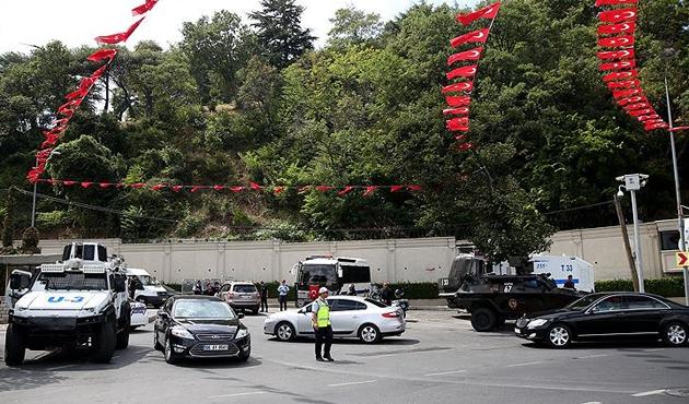 Erdoğan başkanlığındaki 'Güvenlik Toplantısı' başladı