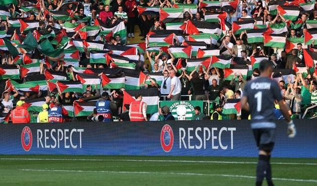 UEFA'dan Celtic'e Filistin cezası