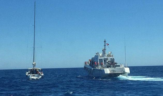 Ege Denizi'nde 47 Afgan yakalandı