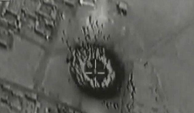 Fransa Suriye'de IŞİD'in silah depolarını vurdu