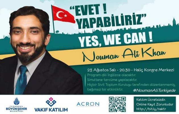 Nouman Ali Khan İstanbul'da