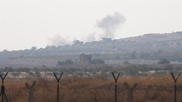 IŞİD Karkamış'a top mermisi attı; TSK Cerablus'u vuruyor