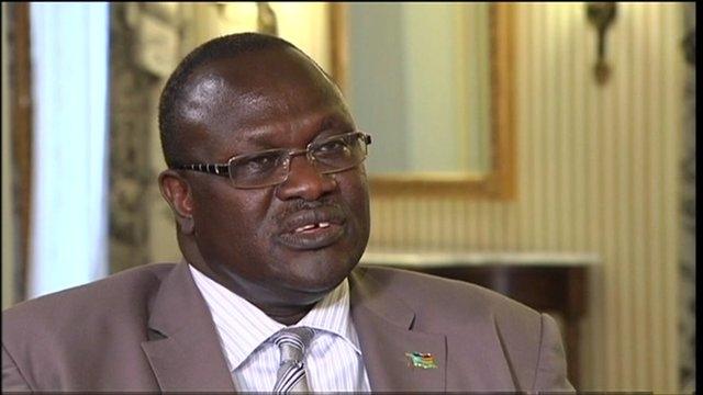 Güney Sudan'da muhalif lider tedavi alında