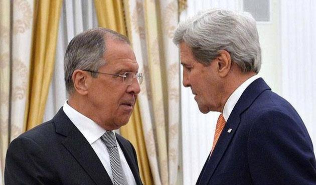 Lavrov ve Kerry Suriye için buluşacak