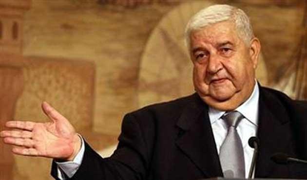 Suriye Dışişleri Bakanı Irak'ta