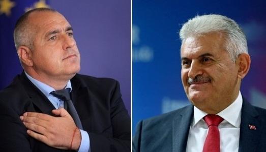 Bulgaristan Başbakanı ile Yıldırım birarada