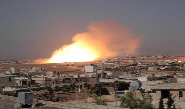 Suriye ordusu yerleşim yerini vurdu: 13 ölü