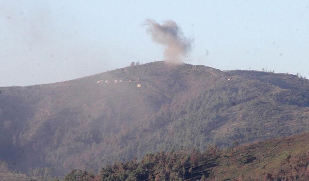 Esad rejiminden Türkmen Dağı'na saldırı