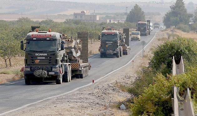 45 zırhlı araç Ankara'dan Burdur'a getirildi