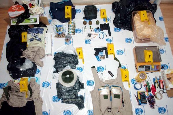 Siirt'te bir evde PKK cephaneliği çıktı