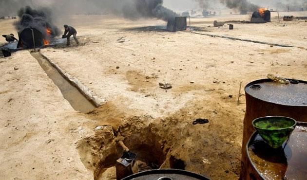 Irak'ta DEAŞ'tan petrol sahasına saldırı