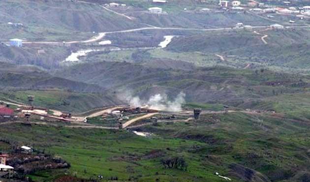 PKK'lılar Derecik'te üs bölgesine saldırdı