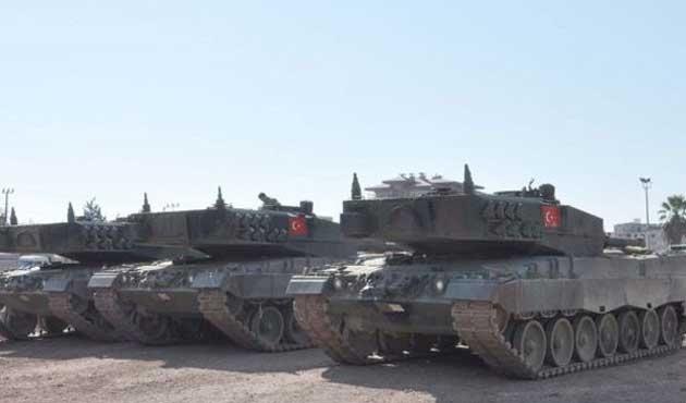 Sınırda 90 tank daha...