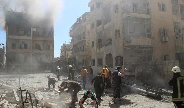 Halep yakınlarında yeni saldırı: 4 doktor öldü