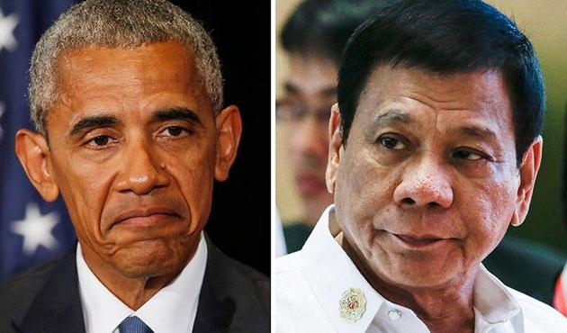 Duterte ABD karşıtı sözlerden eyleme geçti