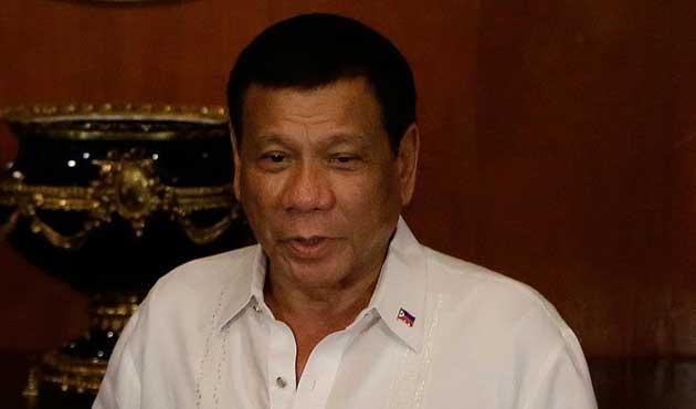 Duterte'den bir tepki de AB'ye