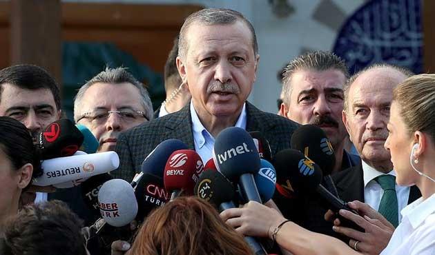 Erdoğan: Başkanlar terörü destekleyemez