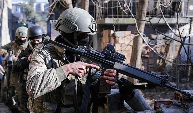 Eylem hazırlığındaki 2 PKK'lı etkisiz hale getirildi