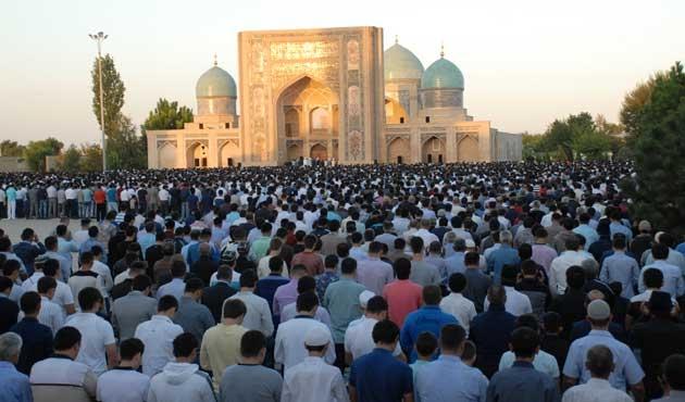 Özbekistan'da bayram coşkusu