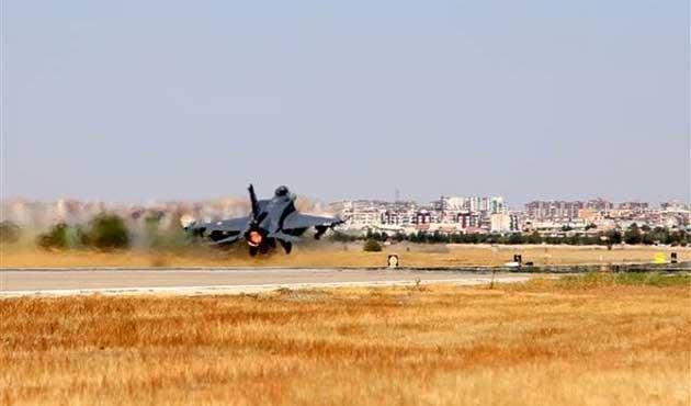 TSK'dan hava operasyonu: 3 hedef vuruldu