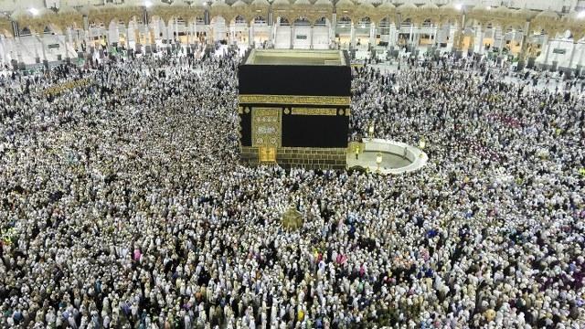 1 milyon 862 bin Müslüman hacı oldu   FOTO