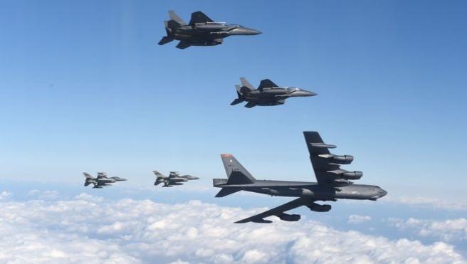 ABD'den Kuzey Kore'ye B-1B Lancer'lı cevap