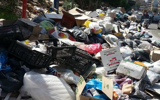 Beyrut çöplerinden kurtuluyor