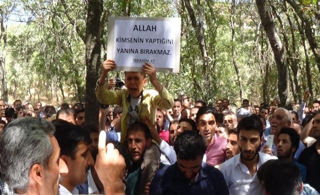PKK'nın katlettiği AK Parti'li Budak'ın cenazesi defnedildi