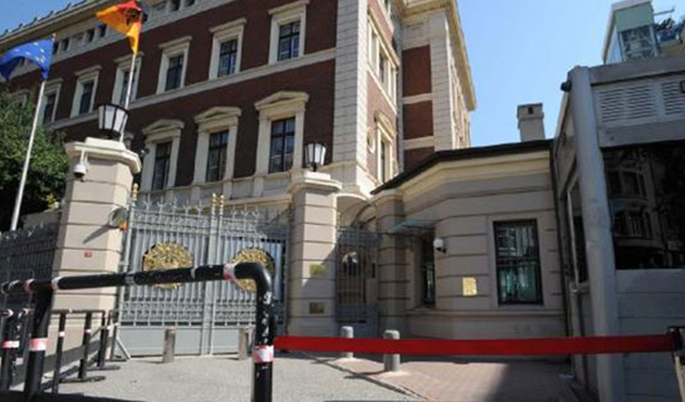 Almanya'nın İstanbul Başkonsolosluğu'ndan kısıtlı hizmet